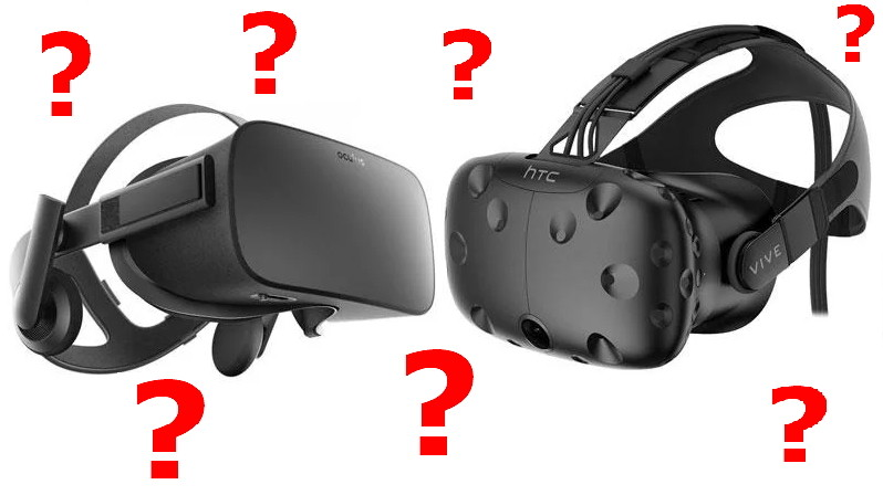 Oculus Rift + Touch or HTC Vive - Which should I get? - Rift vs Vive