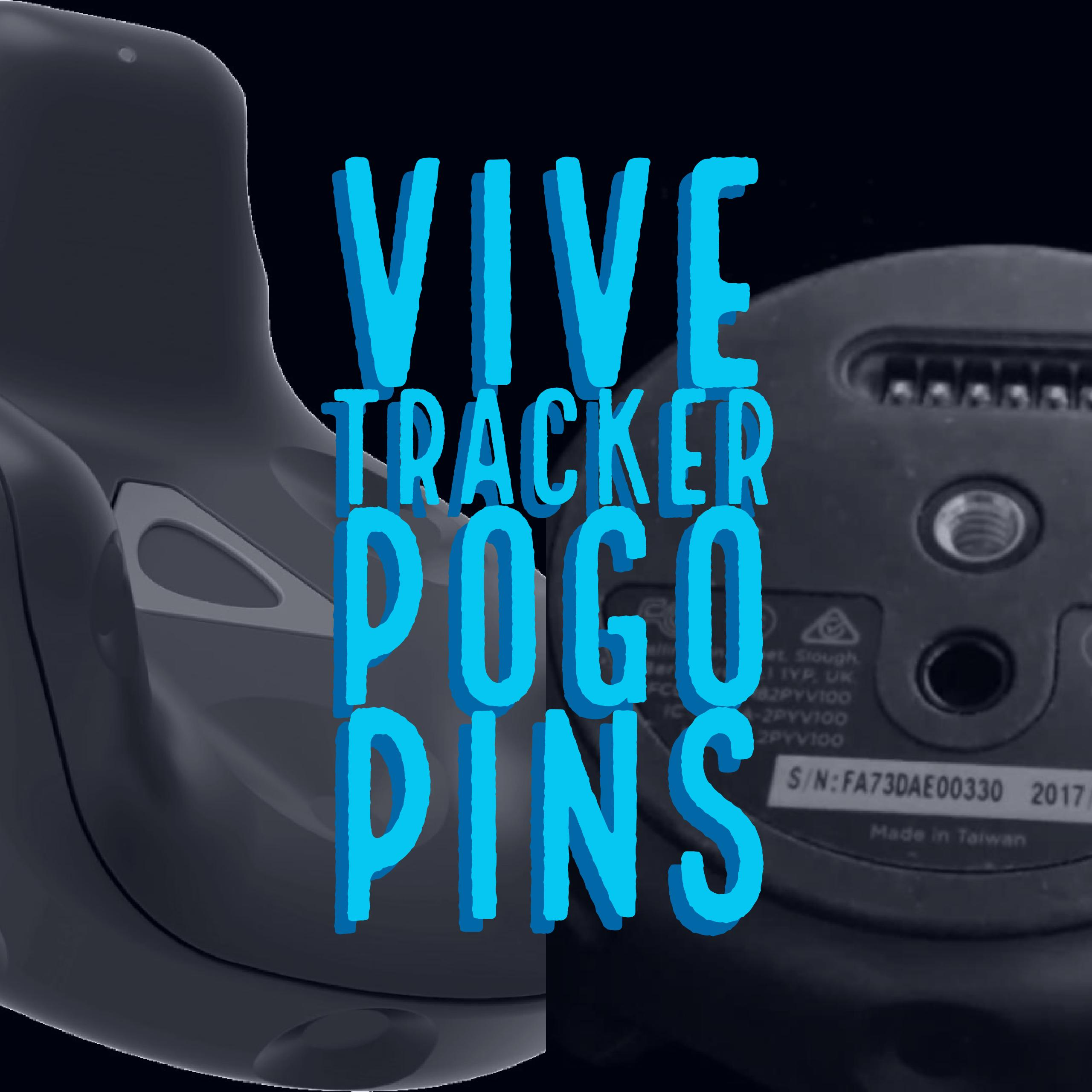 using the htc vive tracker pogo pins in unity3d unity3d college